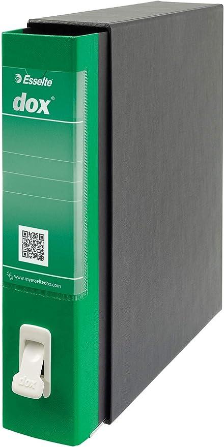 LEITZ D26214 - Archivador de palanca DOX con caja Folio (28,5X35 ...