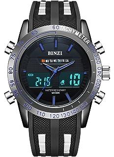 BINZI Casual Reloj De Pulsera Relojes Deportivos A Prueba De Agua Reloj Digital Reloj De Lujo