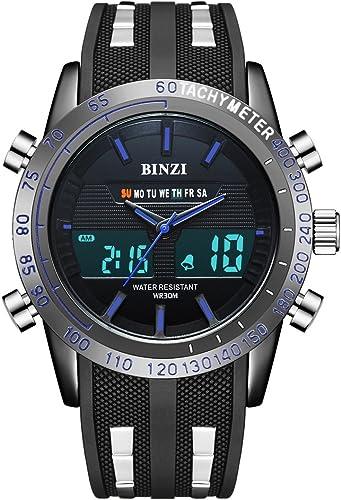 BINZI Casual Reloj De Pulsera Relojes Deportivos A Prueba De Agua ...
