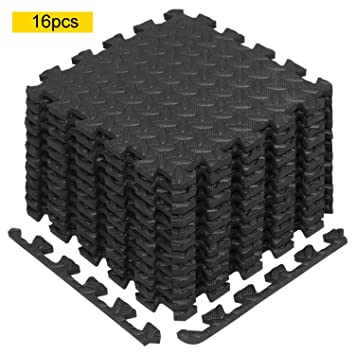 Heavy Duty Large Rubber Gym Mat Commercial Flooring 12mm Garage Flooring  Natural