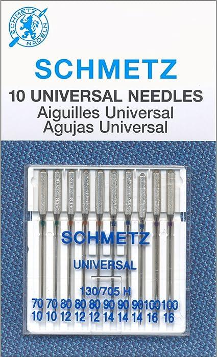 Euro-Notions Universal Machine Needles 10 Pack Size 80//12