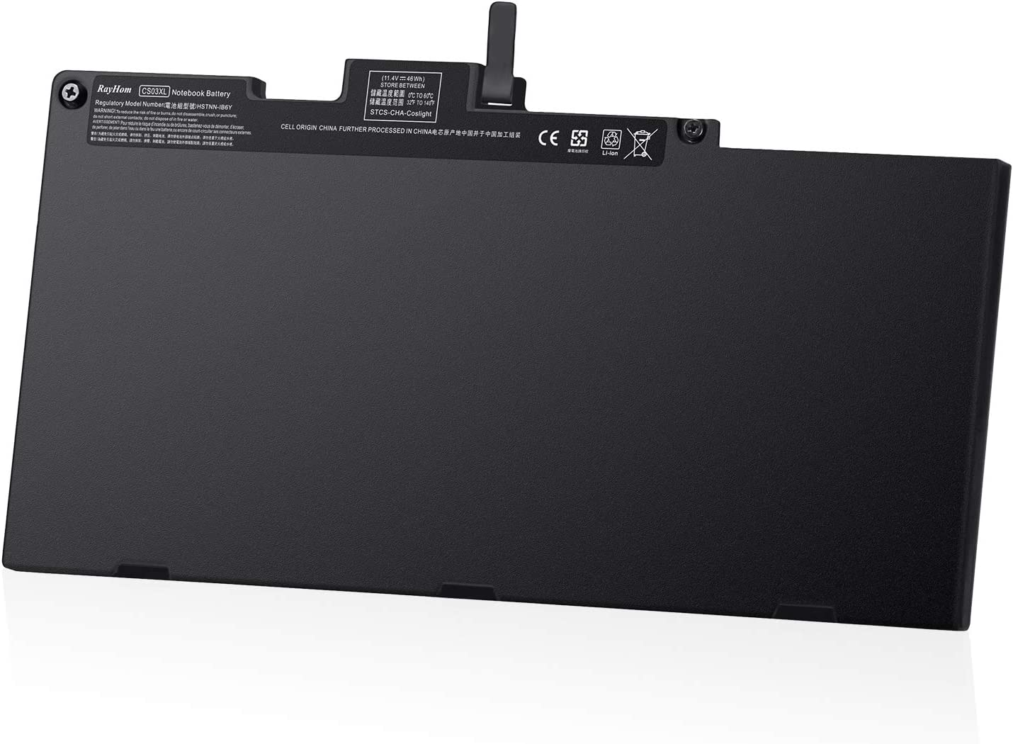 RayHom CS03XL New Laptop Battery - for HP EliteBook 745 755 840 848 850 G3 G4 HSTNN-UB6S HSTNN-IB6Y 800231-141 CS03046XL 800231-1C1 800513-001 ZBook 15u G3 G4 mt42 mt43 Mobile Thin Client