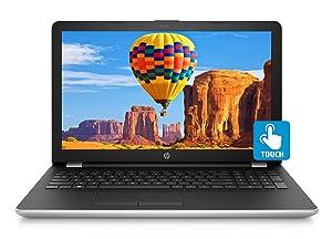 "2018 Newest HP Premium 15.6"" HD Touchscreen Laptop, Intel Core i7-7500U up to 3.50GHz, 8GB DDR4, 1TB HDD, DVD-RW, 802.11ac, Bluetooth, Webcam, USB 3.1, HDMI, Windows 10"