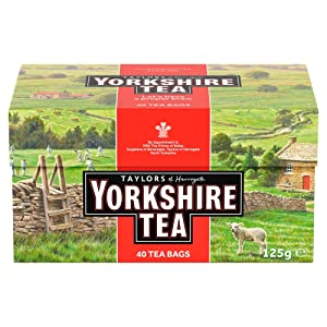 Taylors of Harrogate Yorkshire Red Teabags, 40 Teabags
