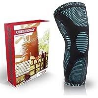 Vigo Sports® Antislip kniebandage voor sport, pijnverlichting en herstel, optimale kniebeschermers voor mannen en…