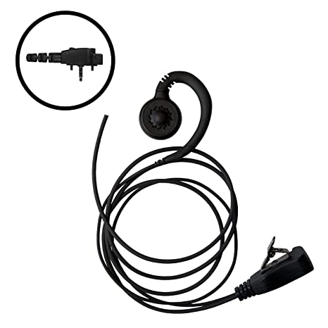Amazon Com Impact Earpiece Headset Mic For Vertex Vx231 Vx261 Vx351