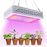 Golspark 1200W LED Grow Light Full Spectrum for Greenhouse, Double Switch Plant Light for Veg and Flower
