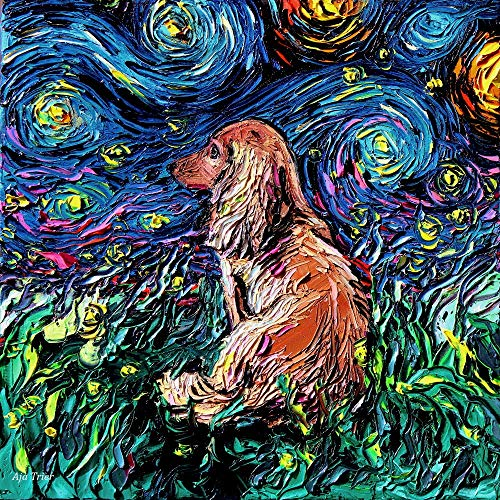 Dachshund Art Ready to Hang Canvas Wall print colorful for sale  Delivered anywhere in USA