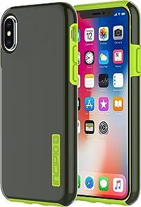 Incipio Apple iPhone X DualPro Case - Smoke/Volt