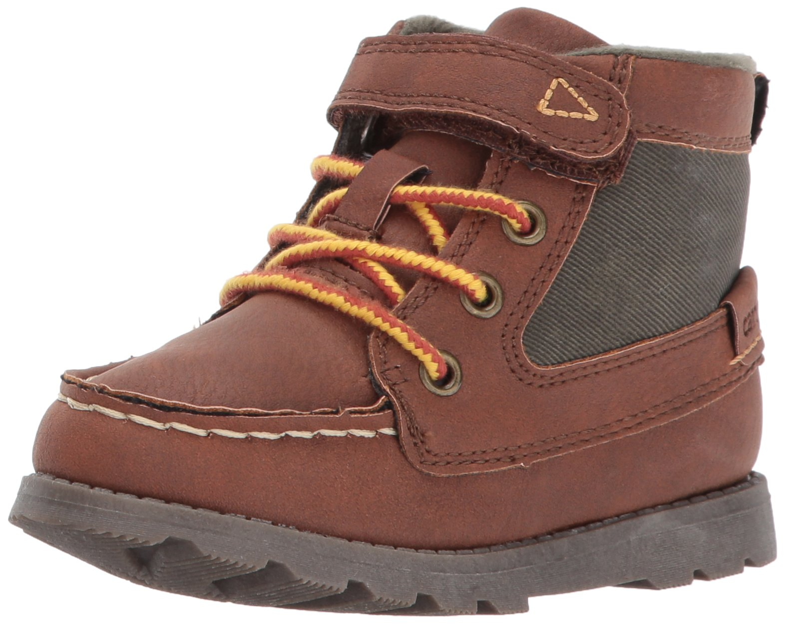 Carter's Boys' Bradford Fashion Boot, Brown, 10 M US Toddler