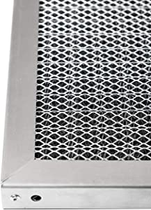 LifeSupplyUSA Replacement Heavy Duty 18x24x1 Aluminum Electrostatic Washable Air Purifier A/C Filter for Central HVAC Conditioner Furnace Systems