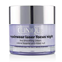 CLINIQUE by REPAIRWEAR LASER FOCUS NIGHT LINE SMOOTHING CREAM 1.7 OZ (50 ML)
