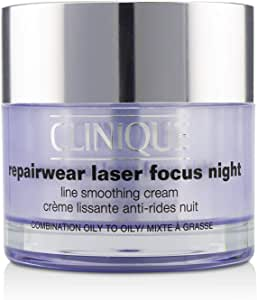 Clinique Repairwear Laser Focus Night Line Smoothing Cream - Combination Oily To Oily 50ml