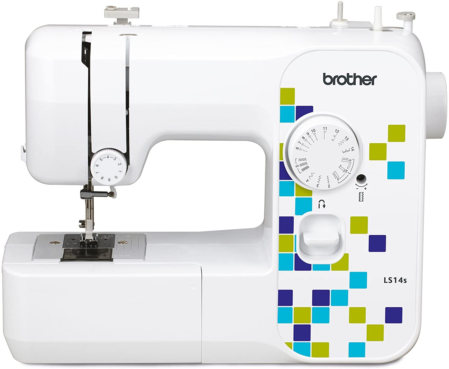 Brother LS14S Metal Chassis Sewing Machine: Amazon.co.uk: Kitchen & Home
