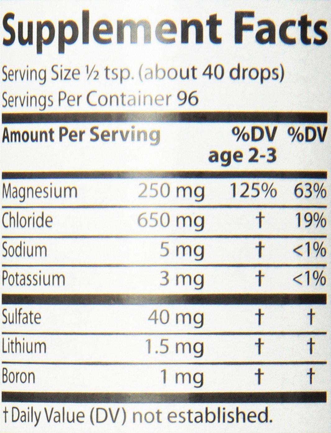 Trace Minerals Research - Concentrace Trace Mineral Drops, 8 fl oz liquid: Amazon.es: Salud y cuidado personal