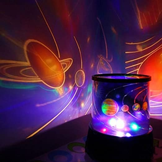 Universo INFANTIL PLANETA NOCHE CIELO DE LUZ LED lámpara de ...
