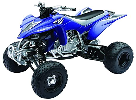 amazon com yamaha yfz 450 2008 atv blue toys games