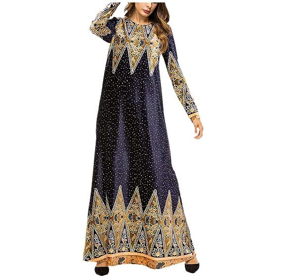 zhxinashu Abiti Femminili Inverno Vestiti Musulmani - Gonna Lunga Ragazze Abaya  Islamico Donna Caldo Arabo Costume  Amazon.it  Abbigliamento 691aeecc697