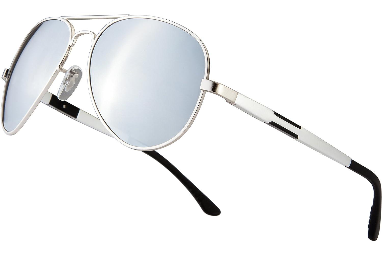 Blasea Metal Frame Aviator Polarized Sunglasses Mens Womens