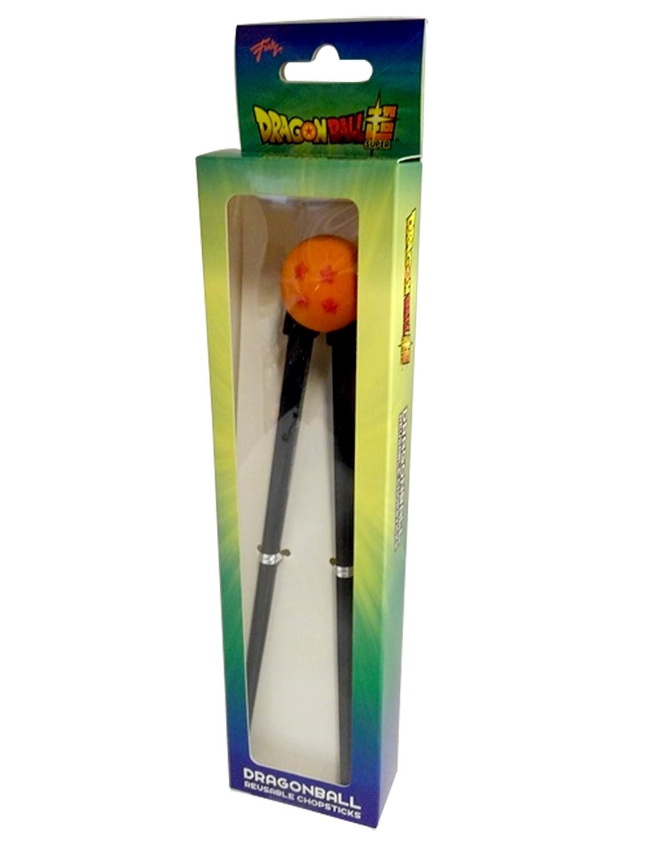 diam/ètre de la boule Dragon Ball Lot de 1 baguettes r/éutilisables avec boule en silicone Motif /étoiles 3,8 cm et baguettes 17,8 x 1,3 cm