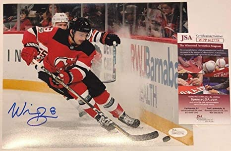 info for e4be9 71f8e WILL BUTCHER AUTOGRAPHED SIGNED NEW JERSEY DEVILS 8x10 PHOTO ...