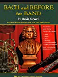 W34CL - Bach and Before for Band - Clarinet/Bass Clarinet