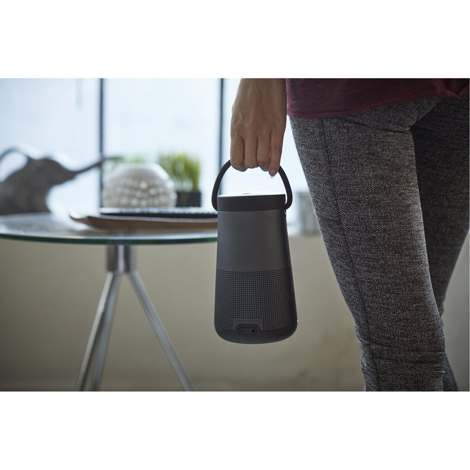 Bose SoundLink Revolve+ Portable & Long-Lasting Bluetooth 360 Speaker - Triple Black by Bose (Image #6)