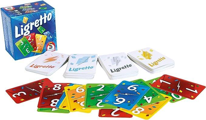 Schmidt 01107 - Ligretto (Azul): Amazon.es: Juguetes y juegos