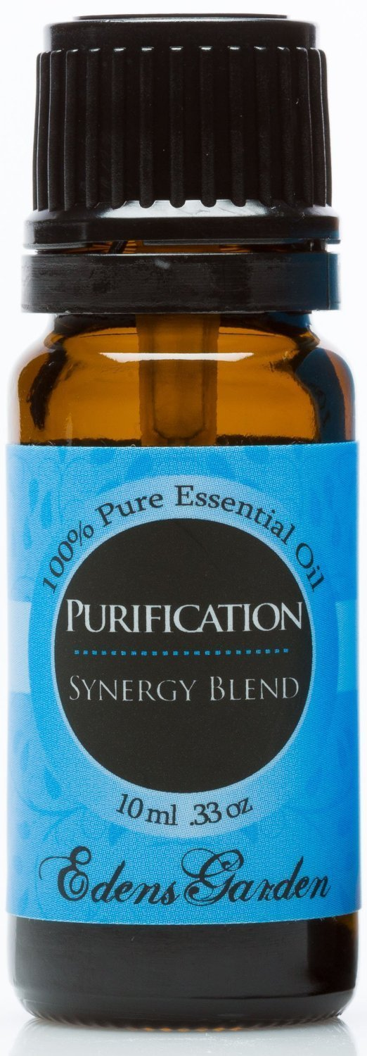 Purify 100% Pure Therapeutic Grade Synergy Blend Essential Oil by Edens Garden-10 ml, GC/MS tested EGNBLPU10