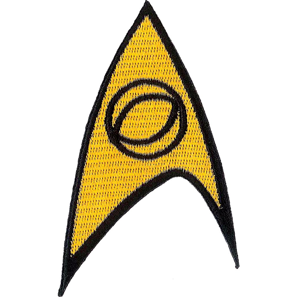 Star Trek Science Iron On Patch 61018ST