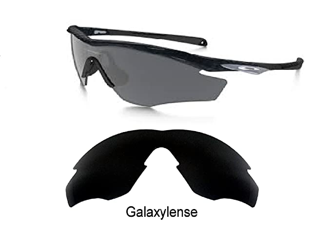 Amazon.com: Galaxy Replacement Lenses For Oakley M2 Frame Black ...
