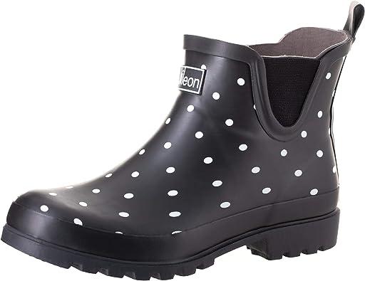 Jileon Ankle Rain Boots Wide Width Fit