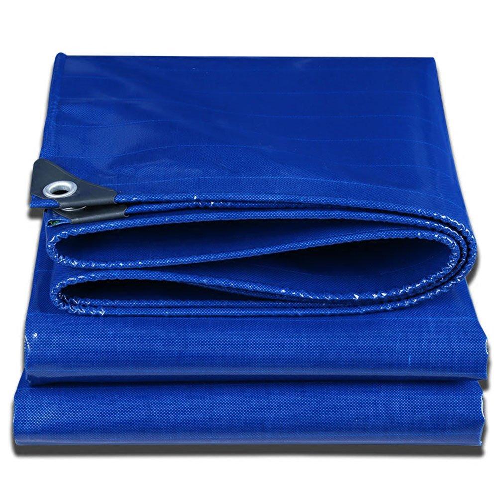 AAA ブルーターポリン屋外用車内コートヤードスイミングプールレストエリアツーリストカバータポリンウォーターサンプロテクションアンチエイジングキャンバス重量:500(g/m²)サイズ:2x2m (色 : Blue, サイズ さいず : 2x3m) B07FXCC9N4 2x3m|Blue Blue 2x3m