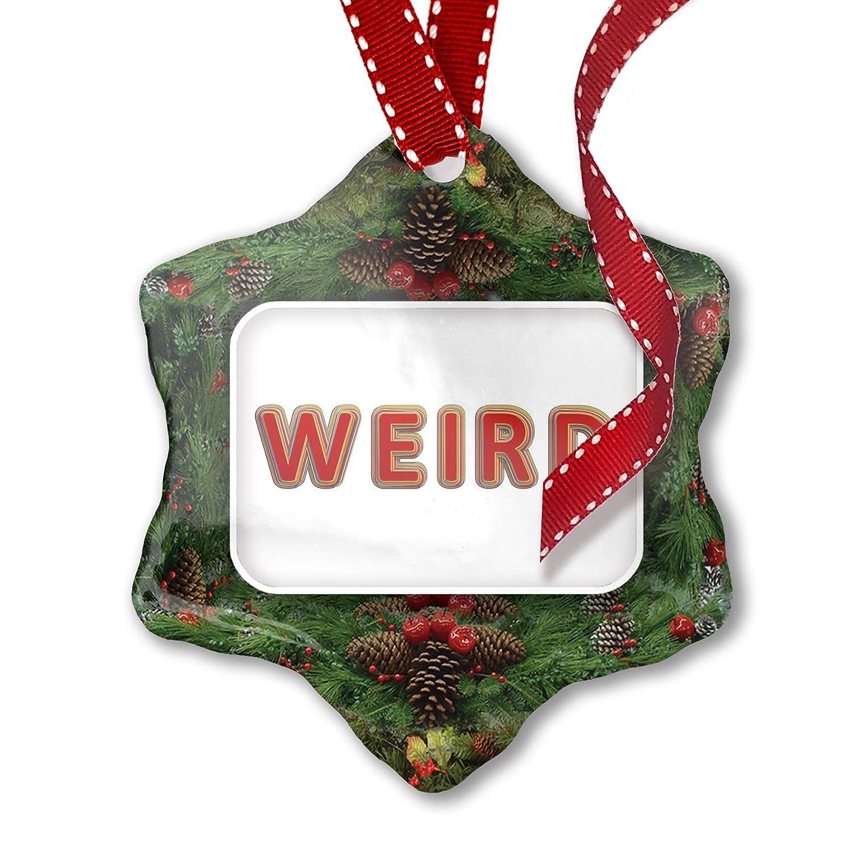 Wierd Christmas Ornament.Amazon Com Neonblond Christmas Ornament Weird Color Layers