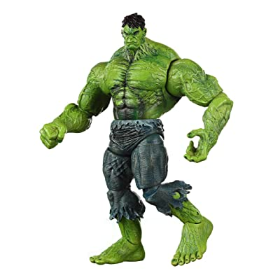 Marvel Select Unleashed Hulk Exclusive Action Figure: Toys & Games