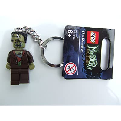 """LEGO Monster Fighters 'The Monster"""" Key Chain: Toys & Games"""