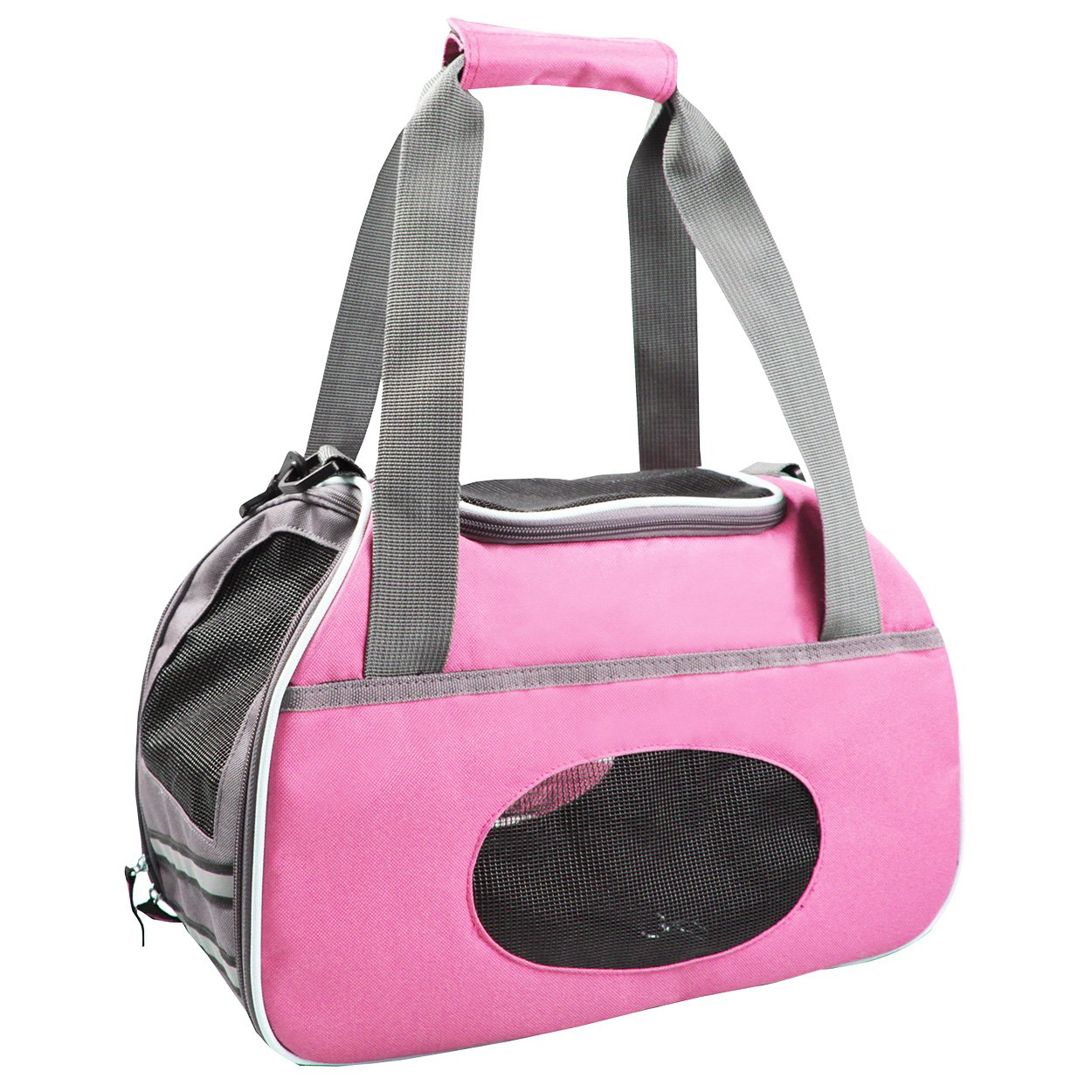 Animal Treasures 31119 Sport Pet Carrier, Pink by Animal Treasures (Image #1)