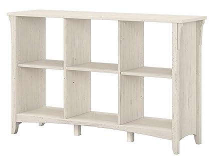 Homey Delight Bookcase Shelf Home Organizer 6-Cube Antique White Bookshelf  Unit Furniture - Amazon.com: Homey Delight Bookcase Shelf Home Organizer 6-Cube