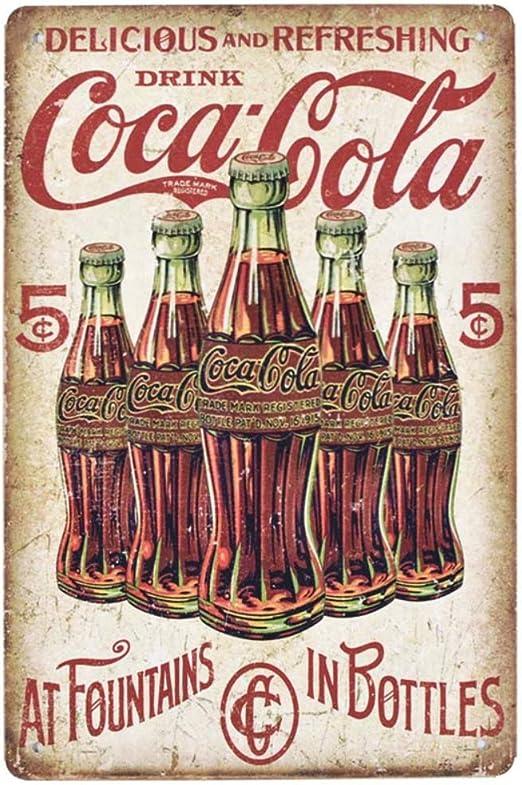 Amazon.com: Signos de barra retro retro vintage para bebida ...