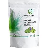 Merlion Naturals Organic Indigo Powder - 227 G (1 Pack)