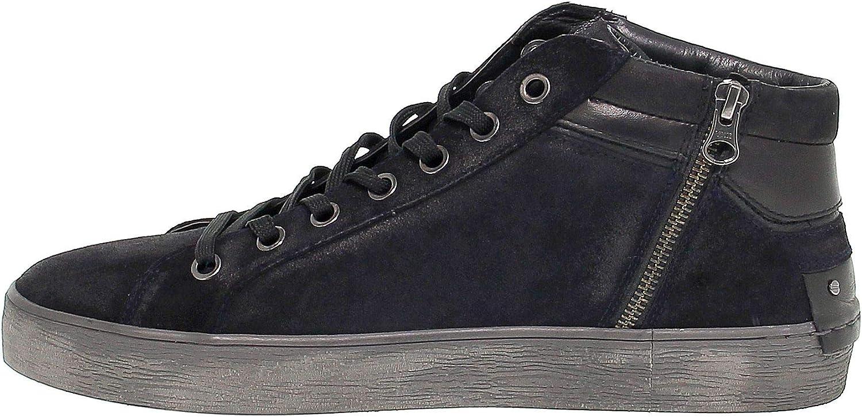 Season Permanent Crime London Luxury Fashion Mens CRIME11222N Black Sneakers