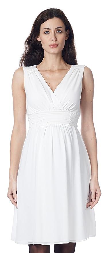 Nitis Umstandsmode Umstandskleid Brautkleid Hochzeitskleid Schwangerschaftskleid Dress Damen Kleid