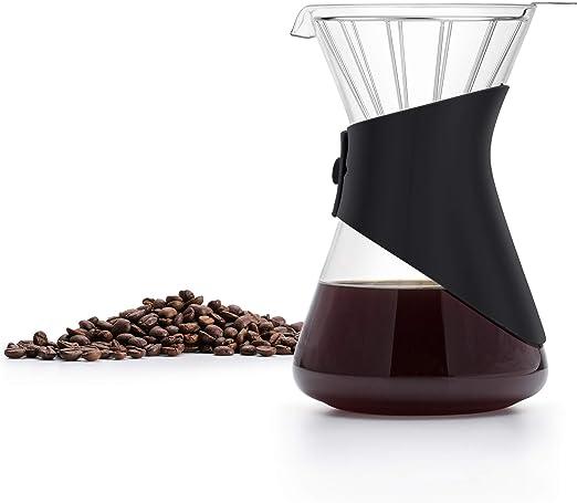 SAKI - Cafetera de goteo con filtro permanente de acero inoxidable ...