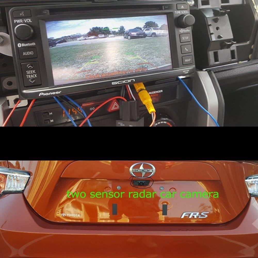Lexxson Car Rear View Camera Radar Parking Sensor 170 Degree Viewing Angle HD Waterproof Rearview Camera RM-PZ451 5558990301