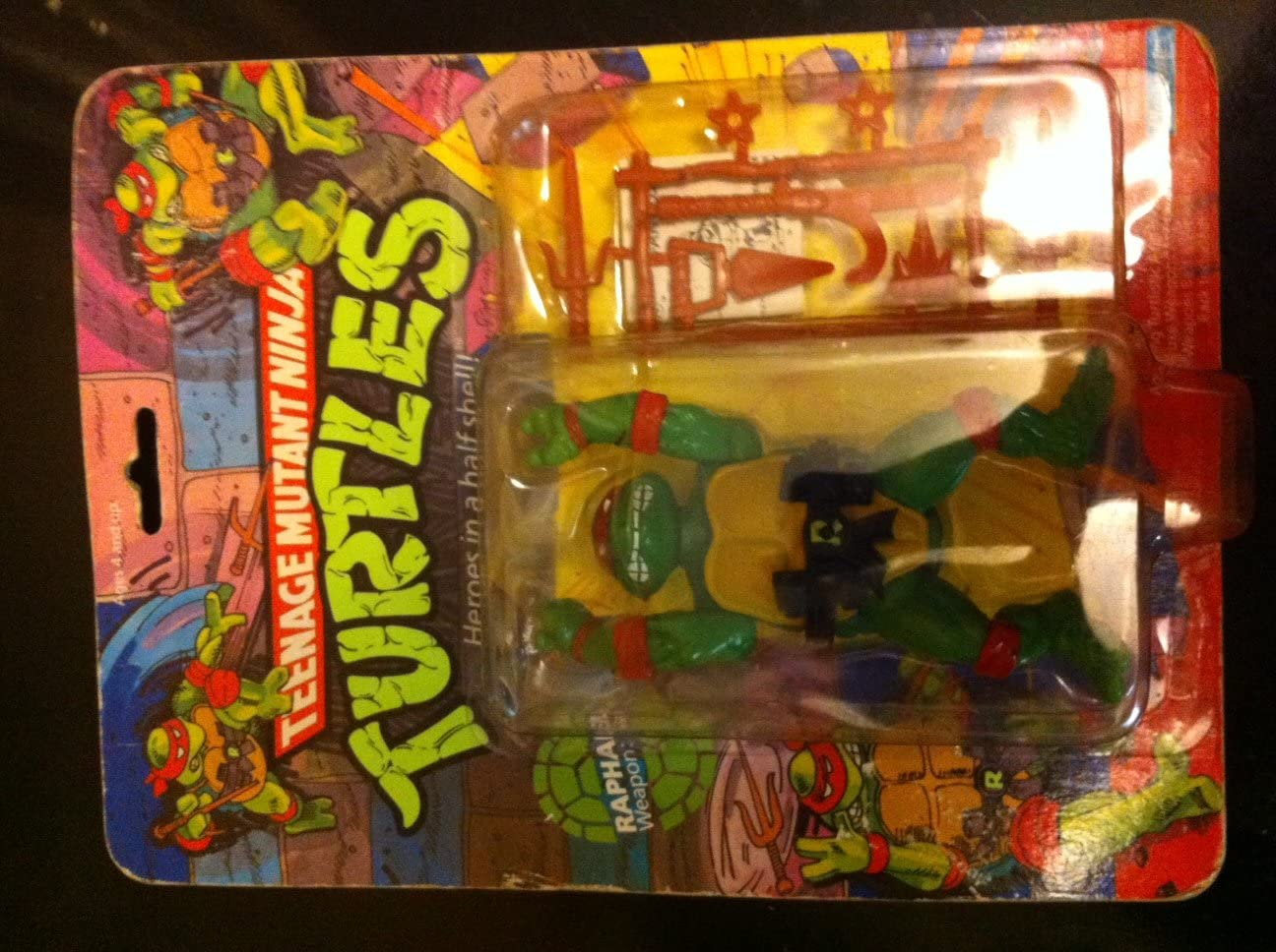 2012 *** RAPH RAFFAELLO MOC CLASSIC *** Teenage Mutant Ninja Turtles TMNT