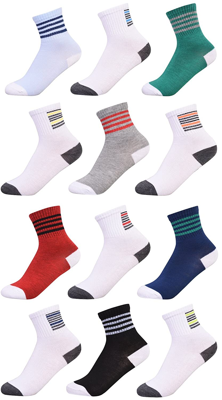 Heelys Boys 12 Pack Crew Socks