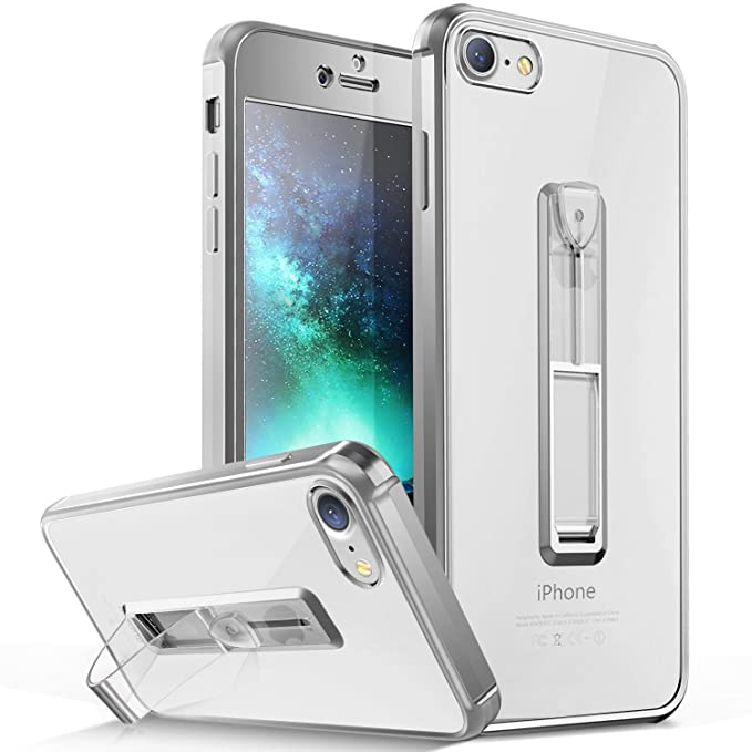 Amazon Com Henpone Clear Iphone 7 Case Iphone 8 Case With Ring