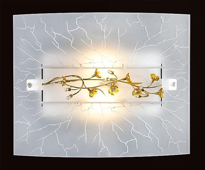 Plafoniere Con Swarovski : Plafoniere plafoniera con cristalli swarovski lucienne