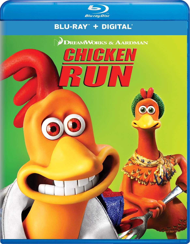 Blu-ray : Chicken Run (Digital Copy)