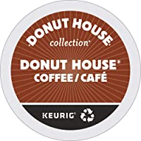 Donut House Collection Donut House Coffee, Light Roast Coffee, 24 Count